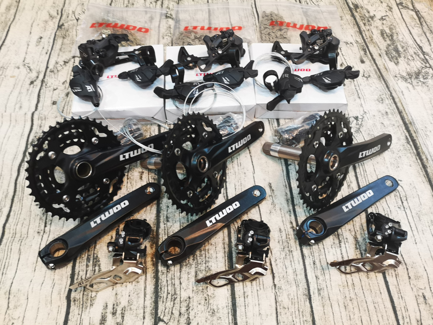 LTWOO 3×10 V-5010 Arrow MTB Groupset 30s 11-46T
